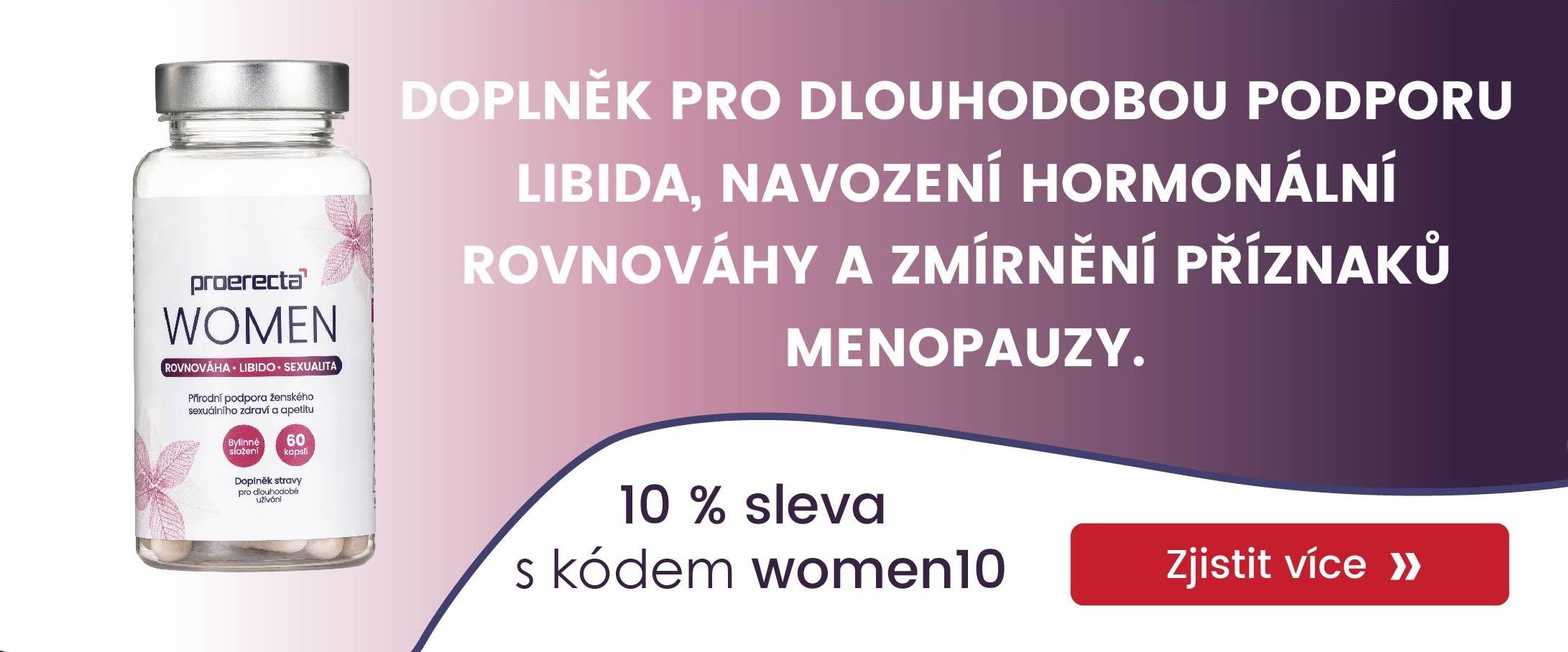 Proerecta WOMEN slevový kód